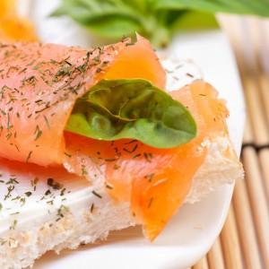 Fresh salmon sandwich - Bad Ways to Lose Weight