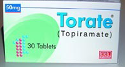 Topiramate weight loss
