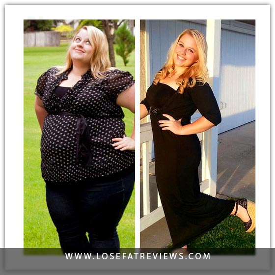 Weight loss before and after like a dream